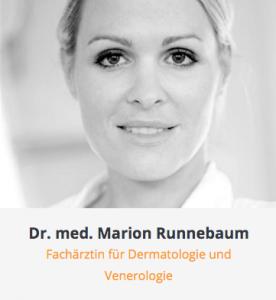 Arztkartei Dr. med. Marion Runnebaum Copyright 2021