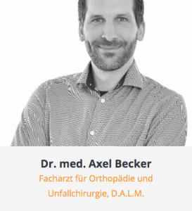 Portrait Dr. Becker Ärzte am alten Zollhof Copyright 2021
