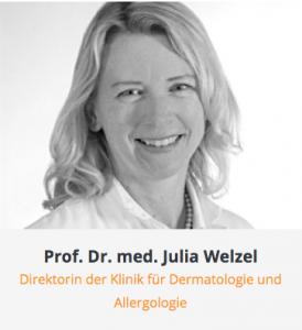 Arztkartei Prof. Dr. Julia Welzel Uniklinik Augsburg Copyright 2021