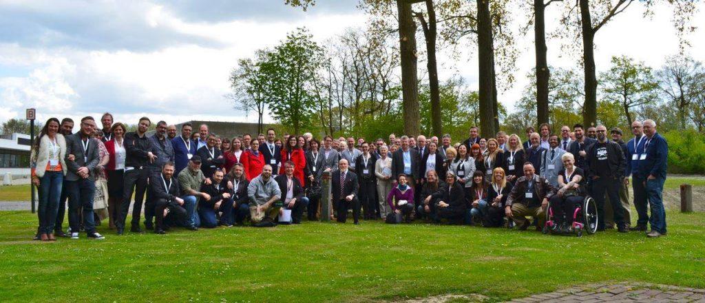 ESTP Gruppenfoto 2015 in Belgien