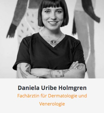 Arztkartei Daniela Uribe Holmgren Hautarztpraxis Fulda