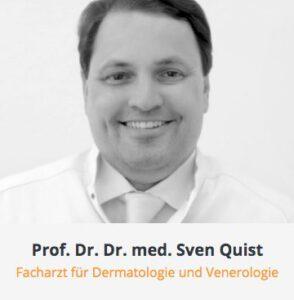 Arztkartei Prof. Dr. Dr. Sven Quist Dermatologie Quist