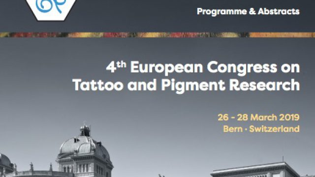 ECTP 2019 4th European Congress on Tattoo and Pigment Research