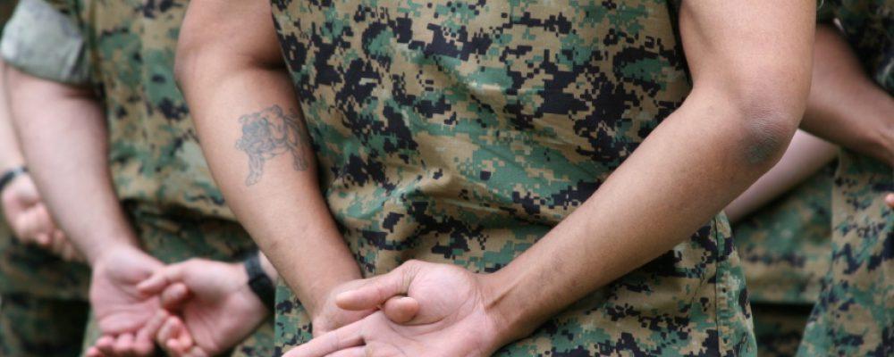 Tätowierungen bei der Bundeswehr