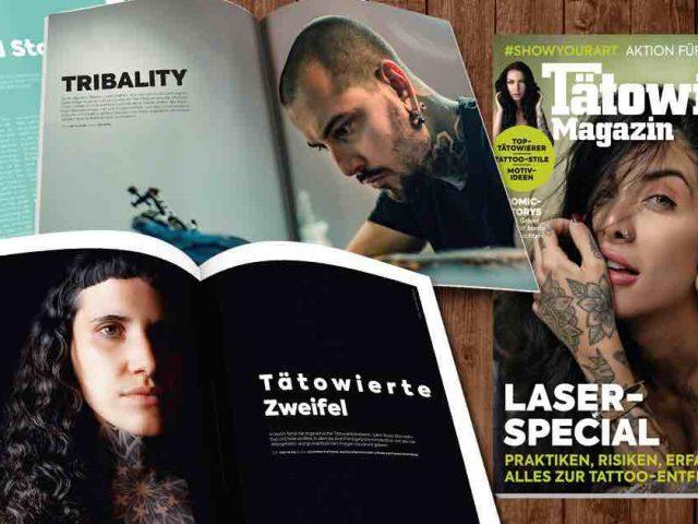 TätowierMagazin Juni 2020: Das große Laser-Special