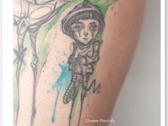 Das Tattoo als Trauertherapie